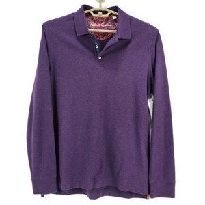 Robert Graham Aherne L/S Knit Polo NWT